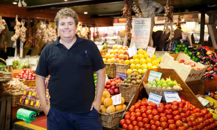 Bill Howison, of Adelaide's House of Organics & Sustainably Grown Produce.