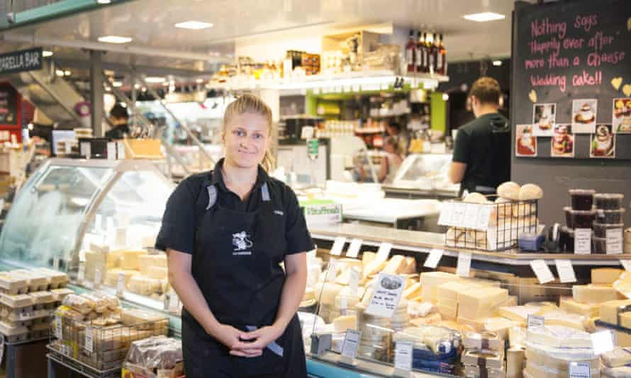 Jen Pedder of Say Cheese in Adelaide Central Market.