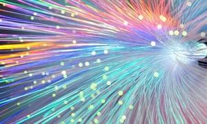 Bundle of fibre optics