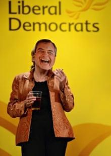 Lib Dem MP does Farage impression