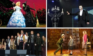 Olivier nominees update: Wicked, The Phantom of the Opera, Les Miserables and Matilda