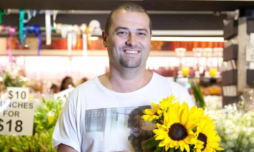 Peter Pessios of Central Market Flowers, Adelaide.
