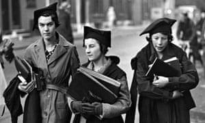 Going To Lectures, Oxford university undergraduates, November 1938