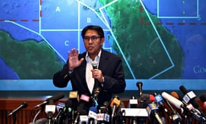 Malaysian civil aviation chief Azharuddin Abdul Rahman gives latest updates on MH370