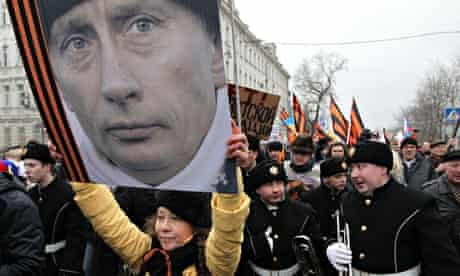 Moscow march for Putin