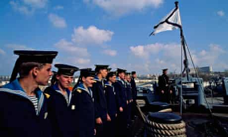Sailors of Black Sea fleet