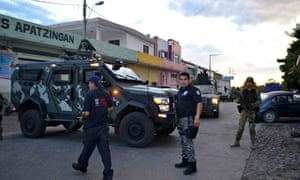 Security forces guard site of killing of Nazario Moreno