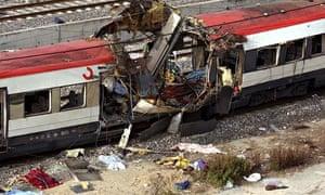 BOMB ATTACKS IN MADRID