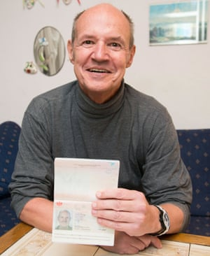 Christian Kozel, whose stolen passport was used by a passenger on the missing Malaysia Airlines flight MH370 in Salzburg, Austria.