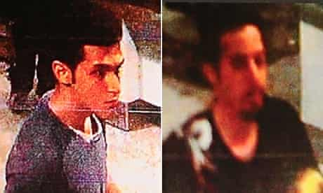 Composite of Malaysia airlines stolen passport holders