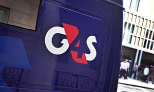 G4S logo on security van