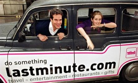 Brent Hoberman and Martha Lane Fox, founders of Lastminute.com