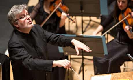 James MacMillan conducting the BBC Scottish Symphony Orchestra