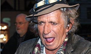 Doing It For The Kids Guitar Hero And Now Childrens Author Keith Richards Photograph Max Nash AFP Getty Images