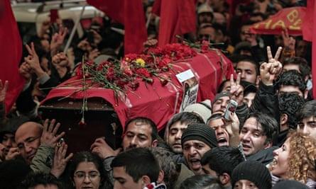Berkin Elvan coffin