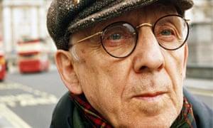 Ivor Cutler, poet and songwriter, in 1997.