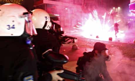 Clashes after Berkin Elvan's death