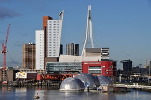 Floating cities: Rotterdam has a Rijnhaven waterfront development experiment well under way