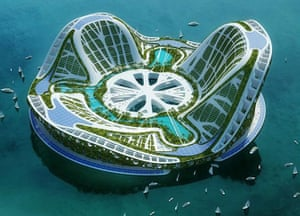 Floating cities: The Seasteading Institute floating villages