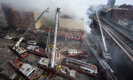 New York building collapse