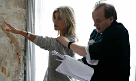 Rehearsals for The Dead Dogs by Jon Fosse at The Print Room in London