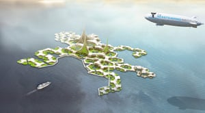 Floating cities: Dutch engineering firm DeltaSync has proposed a modular building strategy