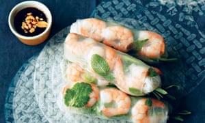 Saigon fresh summer rolls