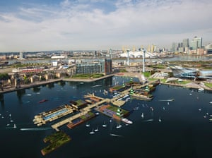 Floating cities: the proposed Floating Village in London's Royal Docks