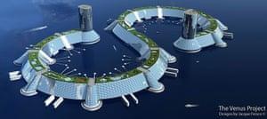 Floating cities: Florida architect Jacque Fresco's concept