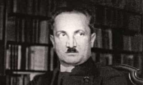 Martin Heidegger in 1933, when the philosopher had already joined the Nazi party.