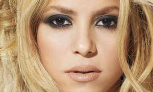 Shakira's racy video with Rihanna made her the top YouTube star in February.