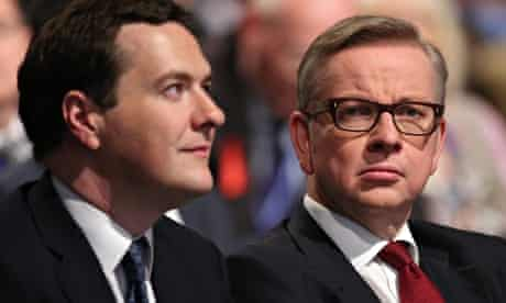 George Osborne and Michael Gove