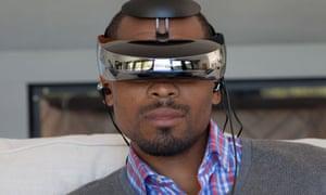 Sony HMZ-T3W head-mounted display