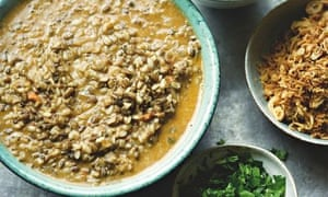 Yotam Ottolenghi's urad dal with coconut and coriander