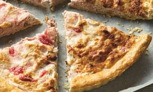 Mary-Ellen McTague's rhubarb and curd cheese tart