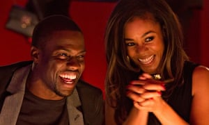 Kevin Hart and Regina Hall in About Last Night