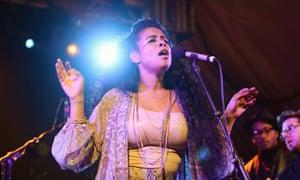 Kelis performs at Austin's SXSW festival