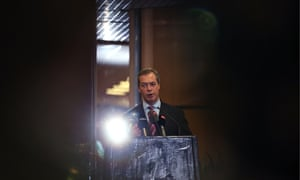 Ukip leader Nigel Farage gives a press conference at the party's 2014 spring conference in Torquay