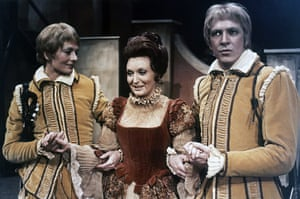 Tweflth Night: Vanessa Redgrave, in the role of Viola, with Nyree Dawn Porter as Countess