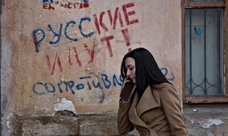 Crimea graffiti