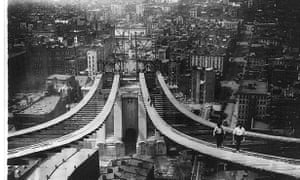 Manhattan Bridge 1900s