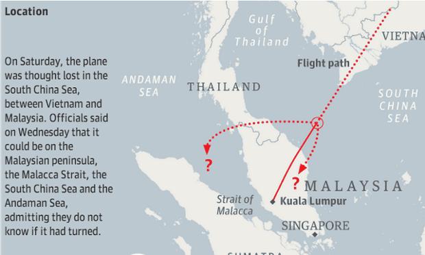 malaysia flight guardian graphic