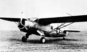 The plane in which Glenn Miller disappeared in 1944
