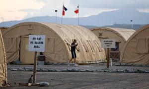 Guantanamo Bay was criticised in the report