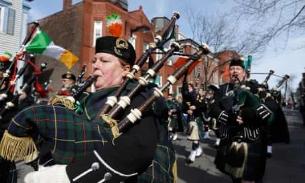 South Boston St Patrick's Day parade