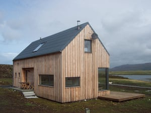 Cool Cottages Skye: The Timber House