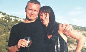 Emma Cook and her husband, Simon