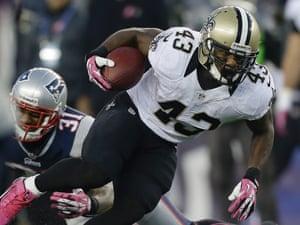big sale 42d92 b901d Darren Sproles leaves New Orleans Saints for Philadelphia ...