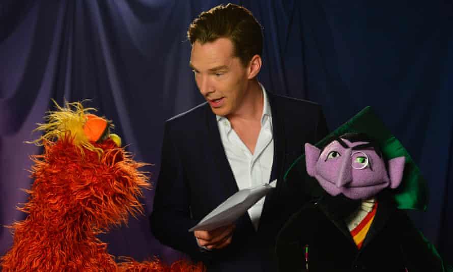 Benedict Cumberbatch Sesame Street