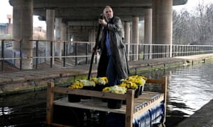 Bill Drummond raft